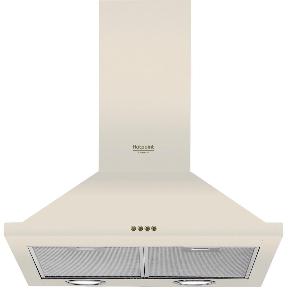 Hotpoint_Ariston Вытяжной шкаф Встраиваемая HHPN 6.5F LM OW Винтажный белый Wall-mounted Механическое Frontal