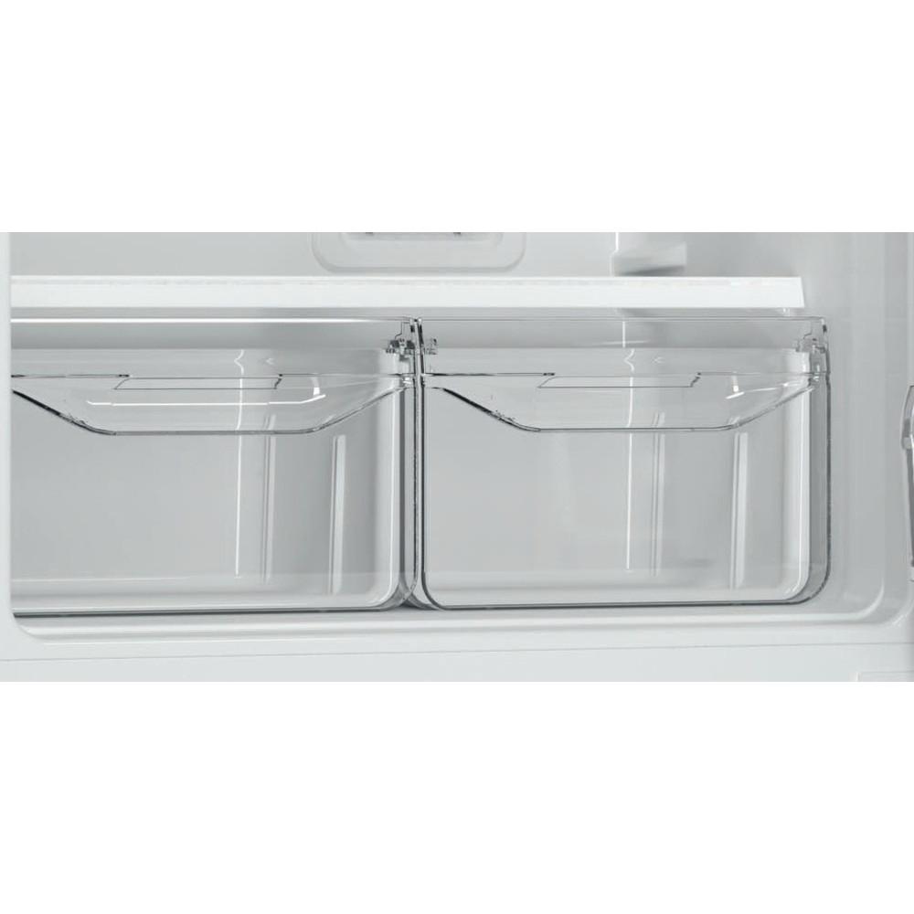 Indesit Холодильник с морозильной камерой Отдельностоящий DF 5180 S Серебристый 2 doors Drawer