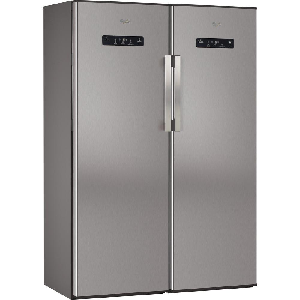 Whirlpool fristående kylskåp: färg rostfri - WME1897 DFC IX