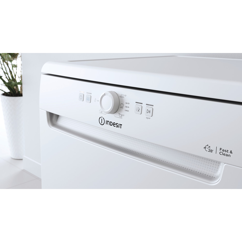 Indesit Посудомоечная машина Отдельностоящий DFE 1B19 13 Отдельностоящий A Lifestyle control panel