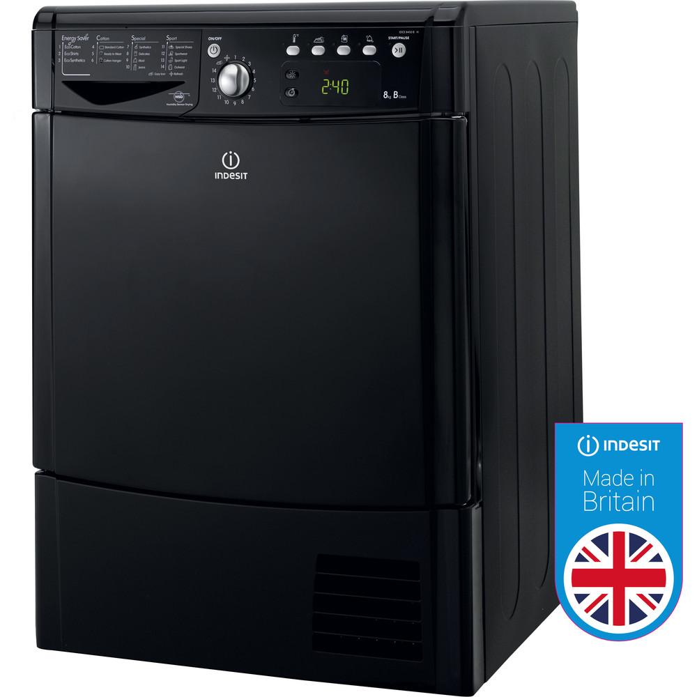 Indesit Dryer IDCE 8450 BK H (UK) Black Award