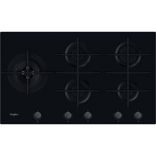 Whirlpool W Collection GOWL 958/NB Gas Hob 5 Burners 90cm - Black