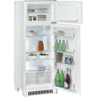 Indesit Combinazione Frigorifero/Congelatore Da incasso IN D 2425 Bianco 2 porte Perspective_Open