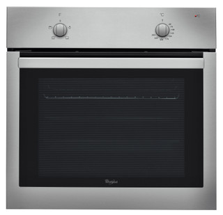 Whirlpool built in electric oven: inox color - AKP 735 IX