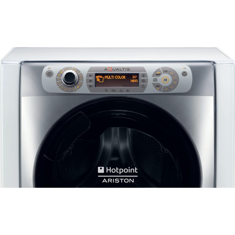 Hotpoint_Ariston Перална машина Свободностоящ AQ94D497SD EU/B N Бял Предно зареждане A+++ Frontal