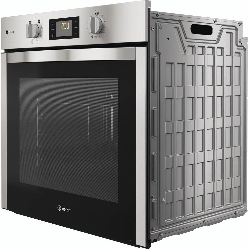 Indesit OVEN Built-in DFWS 5544 C IX UK Electric A Perspective
