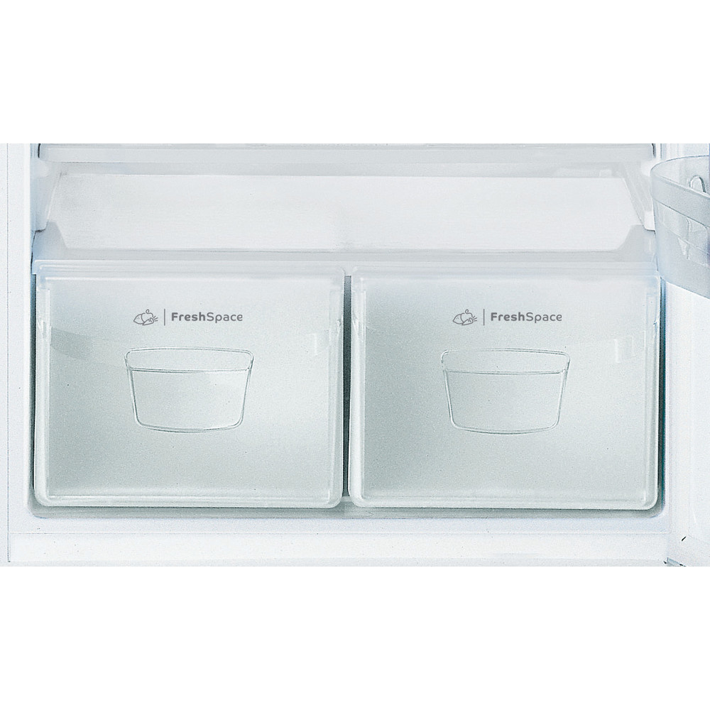Indesit Combinazione Frigorifero/Congelatore A libera installazione TAA 5 V 1 Bianco 2 porte Drawer