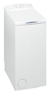 Fritstående Whirlpool-vaskemaskine med topbetjening: 7 kg - AWE 7100