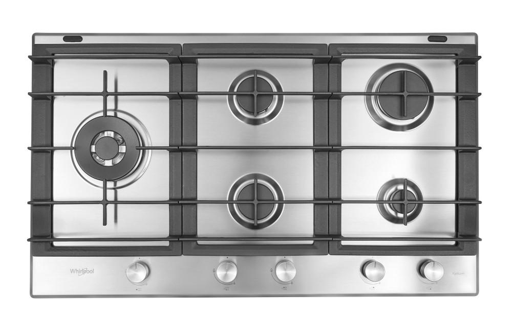 Whirlpool Table de cuisson GMW 9522/IXL Ixelium Gaz Frontal