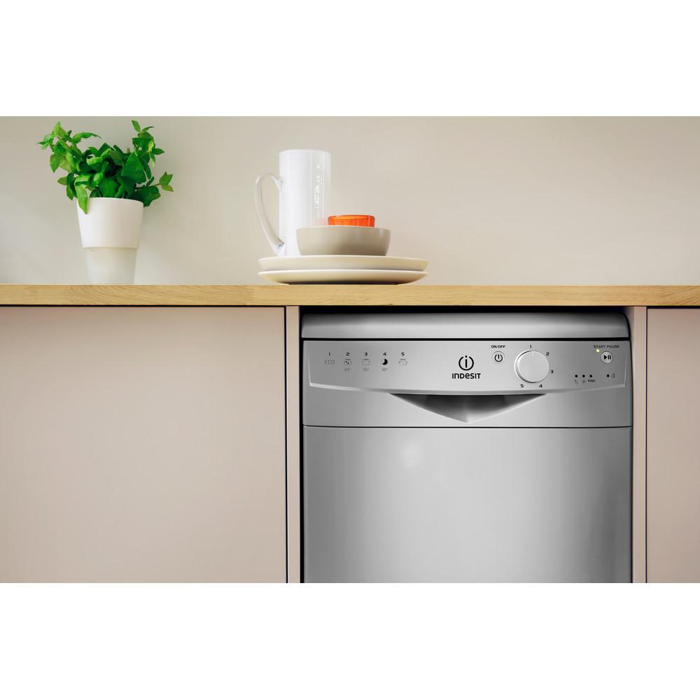 Indesit Посудомоечная машина Отдельно стоящий DSR 15B1 S EU Отдельно стоящий A Lifestyle control panel