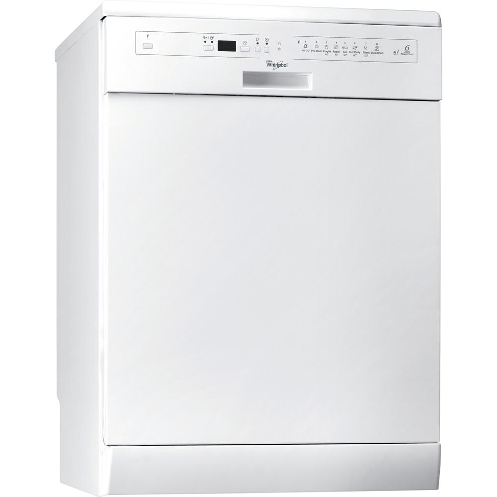 Whirlpool lavavajillas: color blanco, 60 cm - ADP 8678 A+ PC 6S WH