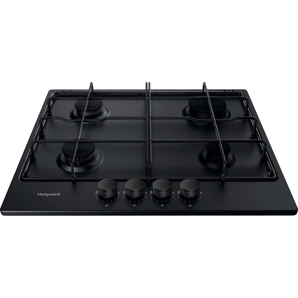 Hotpoint HOB PPH  60P F NB Antracite GAS Frontal top down