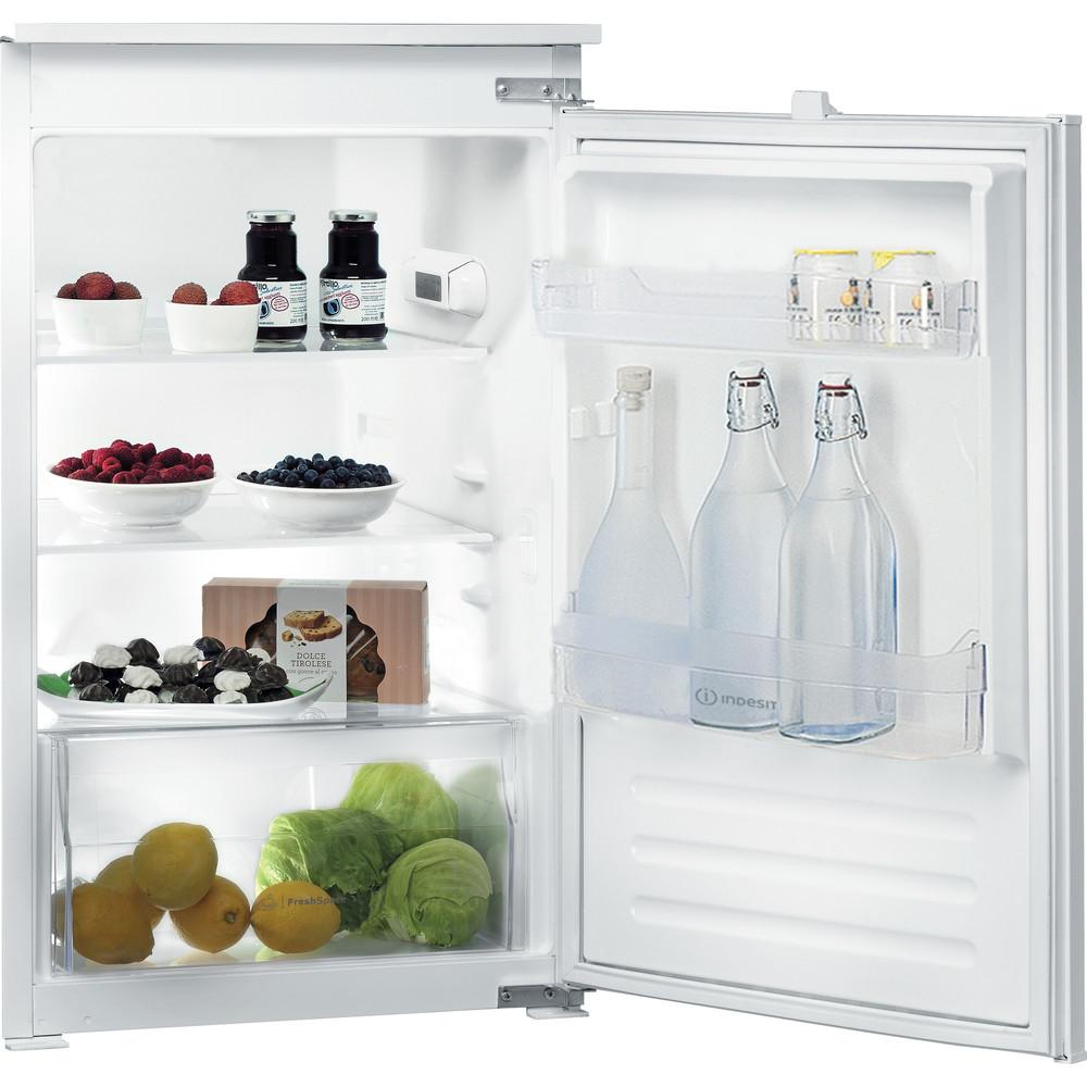Indesit Refrigerator Built-in INS 901 AA Steel Perspective_Open