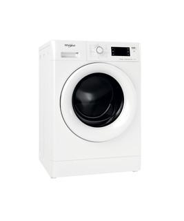 Fritstående Whirlpool-vaskemaskine/tørretumbler: 8,0 kg - FWDG 861483E WV EU N