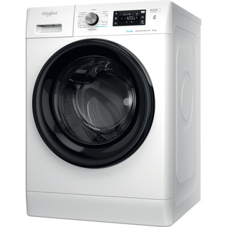 Whirlpool Πλυντήριο ρούχων Ελεύθερο FFB 8448 BV EE Λευκό Front loader A+++ Perspective