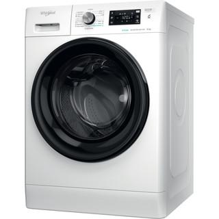 Whirlpool Veļas mazgājamā mašīna Brīvi stāvošs FFB 8458 BV EE Balta Priekšējās ielādes B Perspective