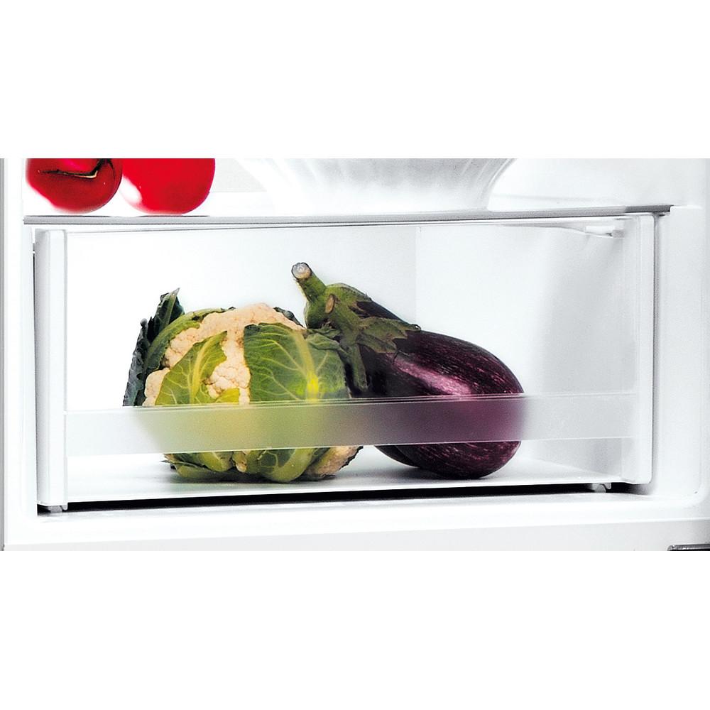 Indesit Kombinacija hladnjaka/zamrzivača Samostojeći LI8 S1E S AQUA Srebrna 2 doors Drawer