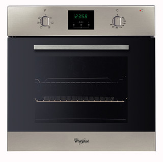 Whirlpool built in electric oven: inox color - AKP 446/IX
