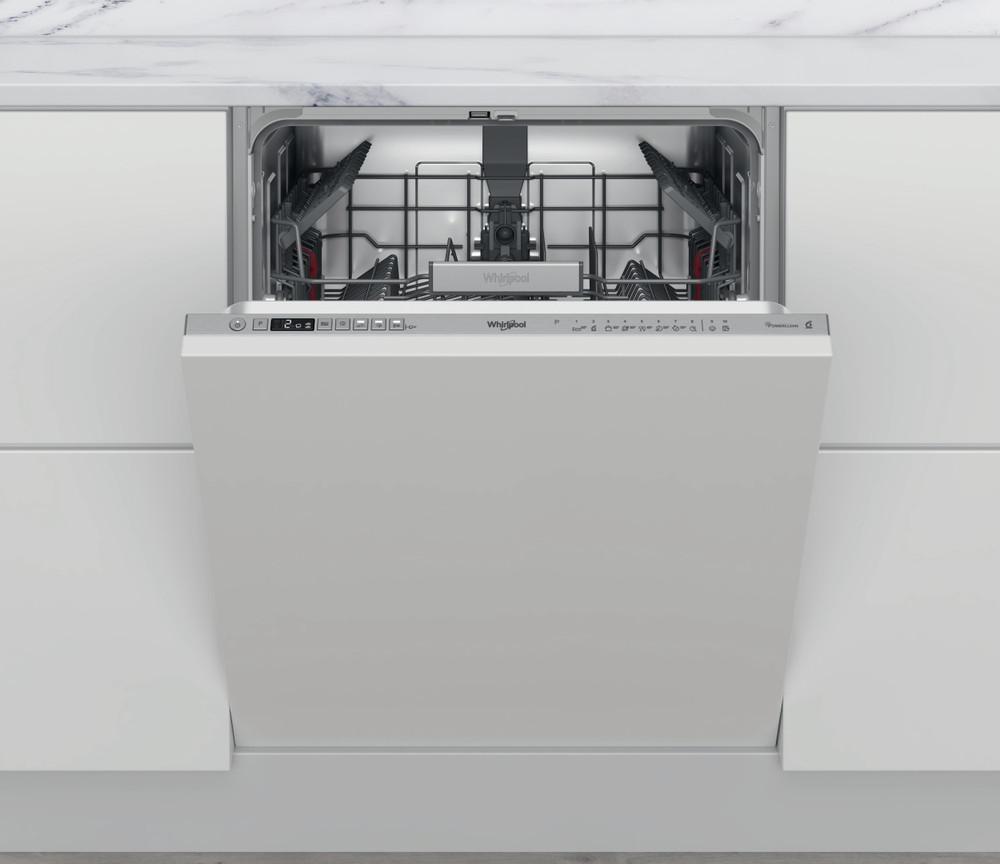 Whirlpool Съдомиялна машина Вграден WCIO 3T341 PE Изцяло вграден C Frontal