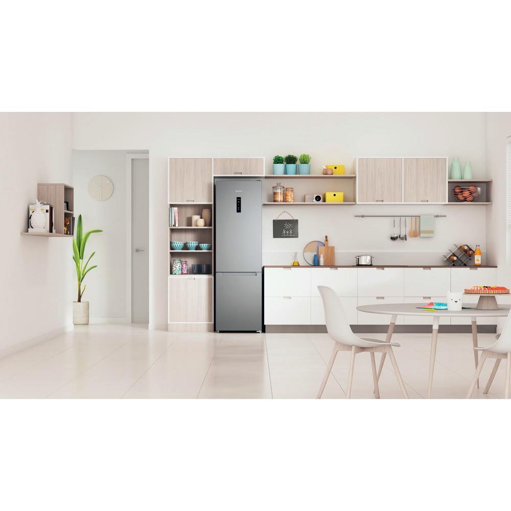Indesit Холодильник с морозильной камерой Отдельно стоящий ITI 5201 S UA Серебристый 2 doors Lifestyle frontal