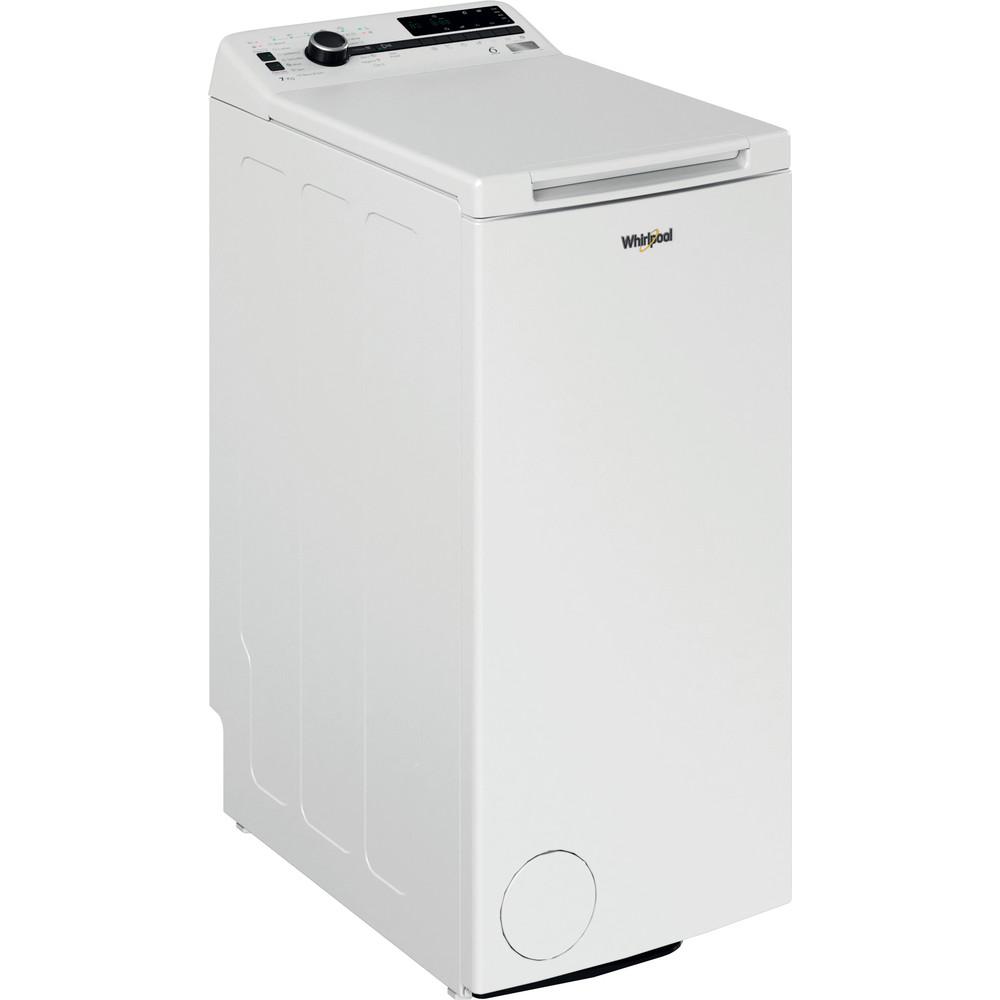 Whirlpool toppmatad tvättmaskin: 7 kg - TDLR 7222BS NX/N