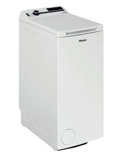 Päältä täytettävä vapaasti sijoitettava Whirlpool pyykinpesukone: 7 kg - TDLR 7222BS NX/N