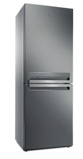 Réfrigérateur congélateur posable Whirlpool: sans givre - B TNF 5322 OX