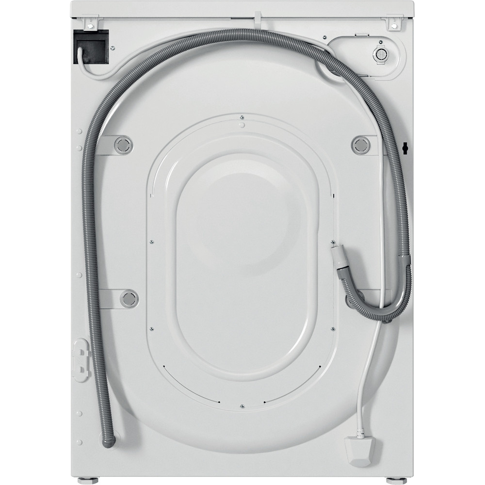 Indesit Waschmaschine Freistehend EWSE 61251 W DE N Weiß Frontlader F Back / Lateral