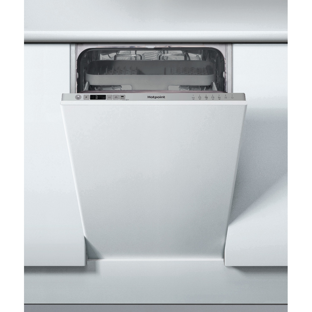 Hotpoint Dishwasher Built-in HSIC 3M19 C UK N Full-integrated A+ Frontal