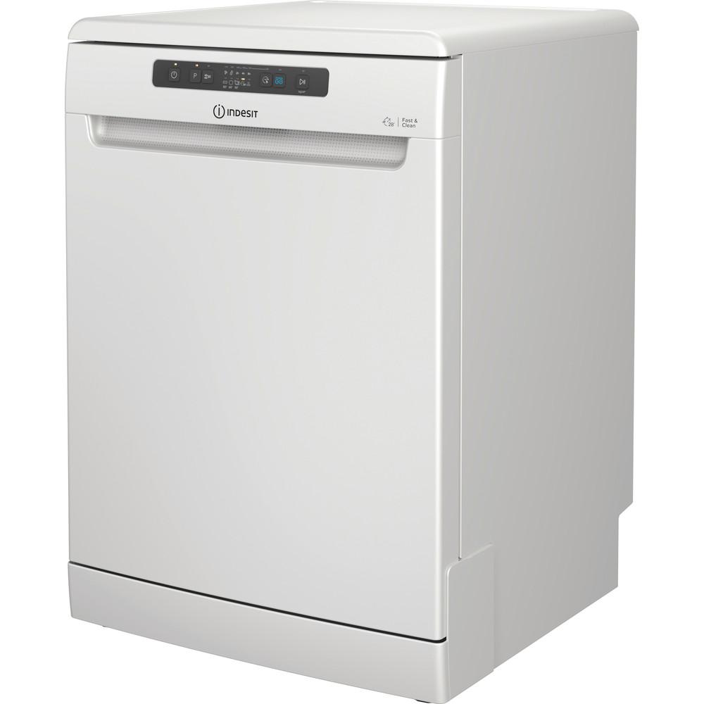 Indesit Mašina za pranje posuđa Samostojeći DFC 2B+19 AC Samostojeći F Perspective