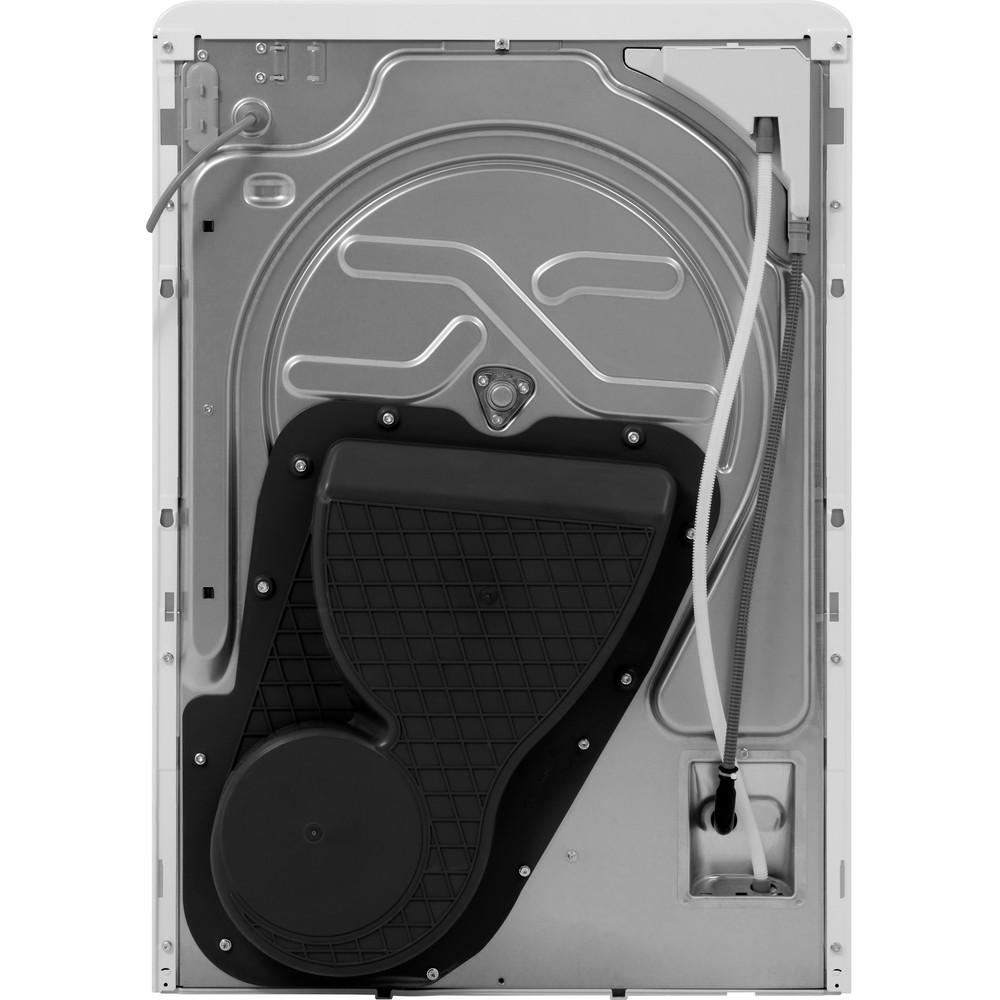 Indesit Dryer YT M10 71 R UK White Back / Lateral