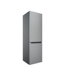 Indesit Combinación de frigorífico / congelador Libre instalación INFC9 TI22X Inox 2 doors Perspective