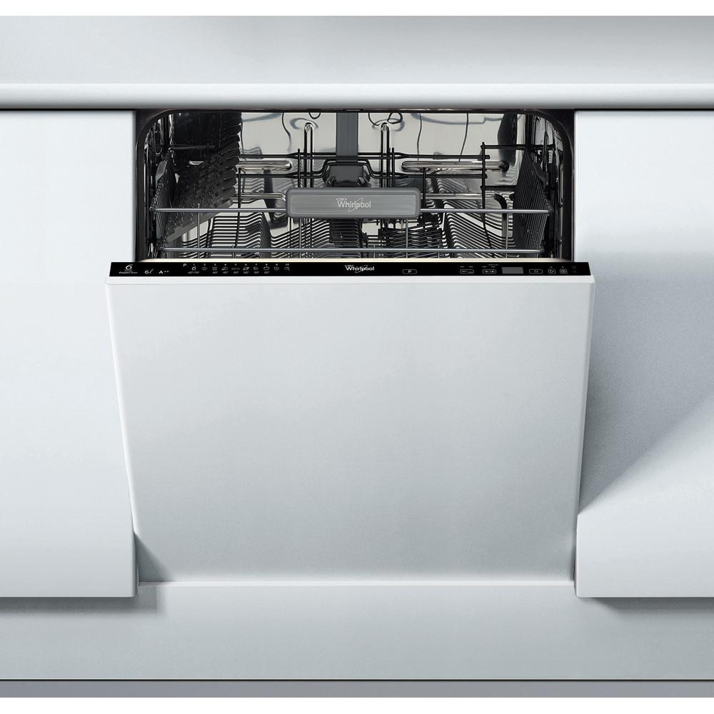 Whirlpool integrerad diskmaskin: färg svart, 60 cm - ADG 8799 FD
