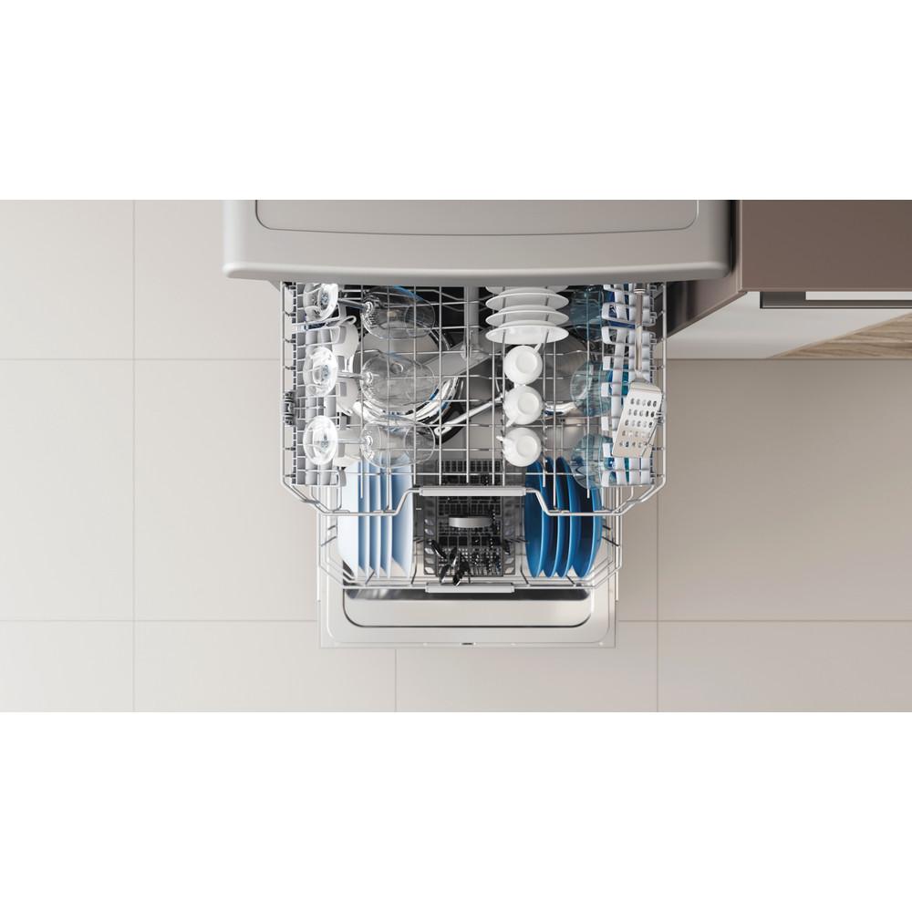 Indesit Посудомоечная машина Отдельностоящий DFC 2C24 A X Отдельностоящий A Rack
