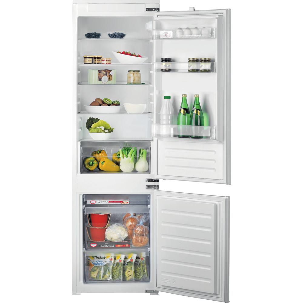 Hotpoint_Ariston Combinazione Frigorifero/Congelatore Da incasso BCB 75251 Bianco 2 porte Frontal open