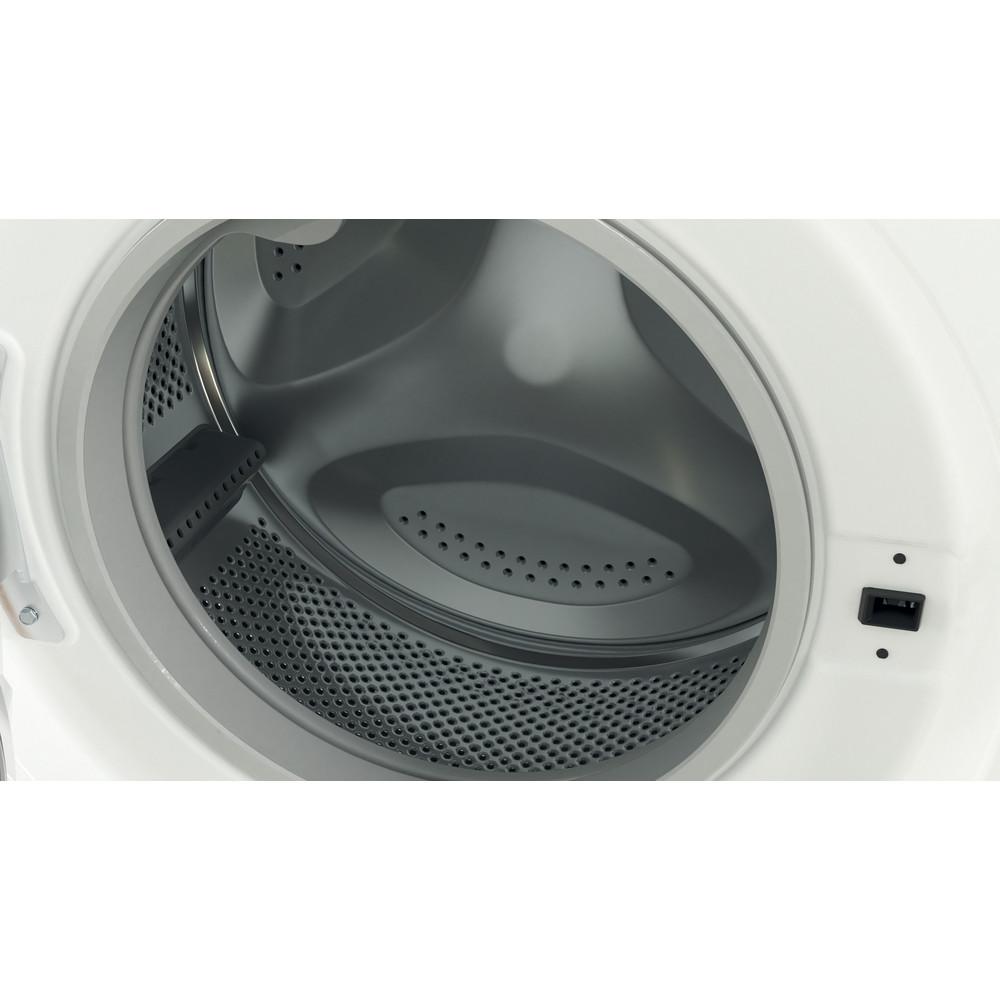 Indesit Veļas mazgājamā mašīna Brīvi stāvošs BWSA 61051 W EU N Balts Priekšējās ielādes F Drum