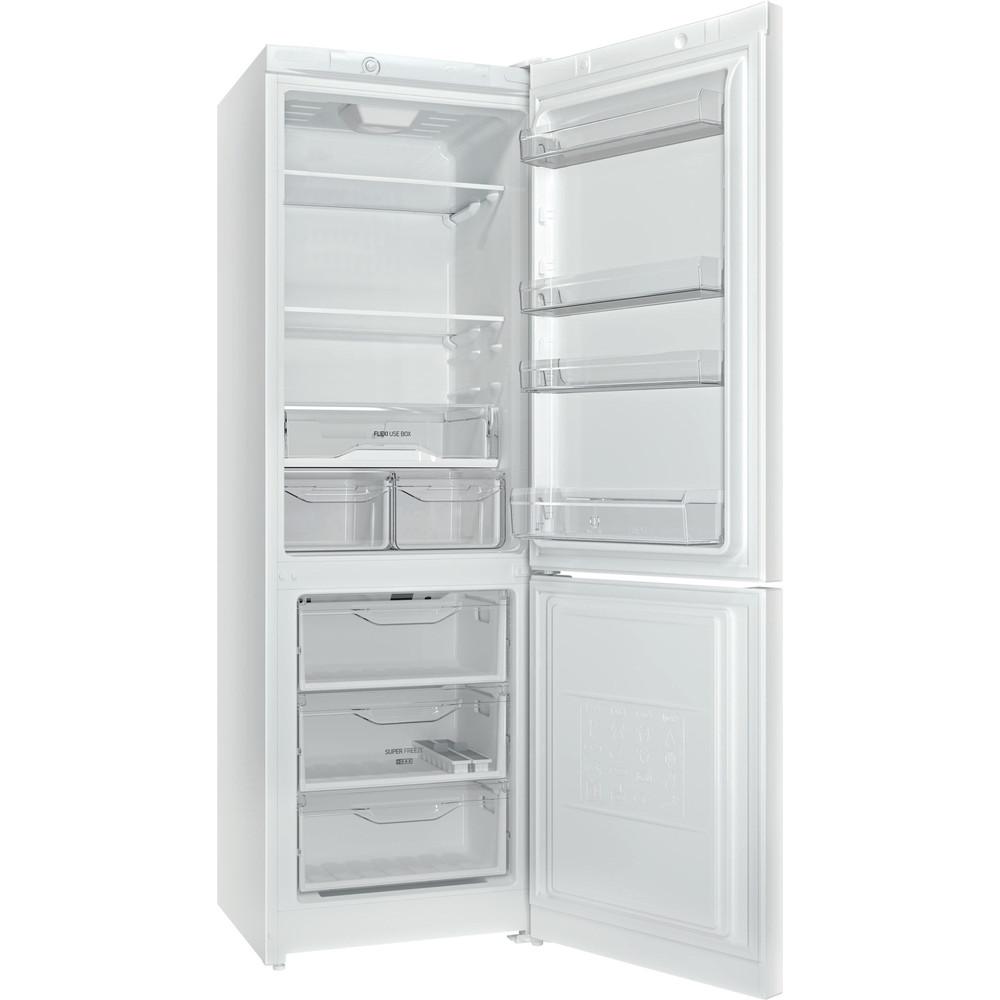 Indesit Холодильник с морозильной камерой Отдельностоящий DS 4180 W Белый 2 doors Perspective open