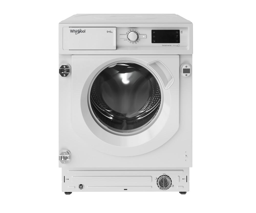 Whirlpool Mosó-szárító Beépíthető BI WDWG 961484 EU Fehér Front loader Frontal