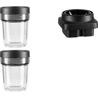 200 ml mengbeker voor kleine hoeveelheden met messysteem accessoire voor Artisan K400 Blender 5KSB2040BBB