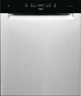 Whirlpool-opvaskemaskine: inox-farve, fuld størrelse - WUC 3C32 P X