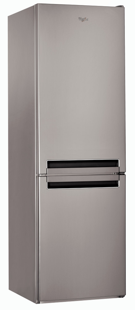 Whirlpool Fridge/freezer combination Samostojeća BSNF 8151 OX Optic Inox 2 vrata Perspective
