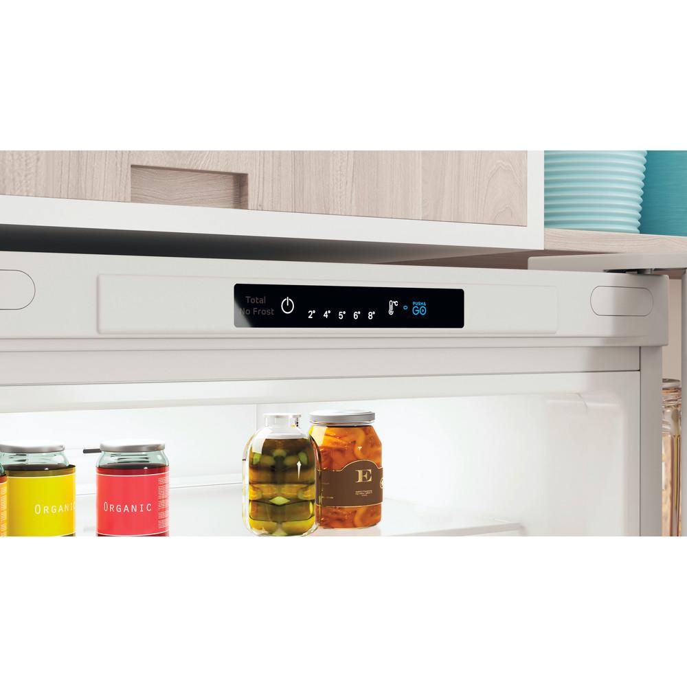 Indesit Combinación de frigorífico / congelador Libre instalación INFC9 TI22W Blanco 2 doors Lifestyle control panel