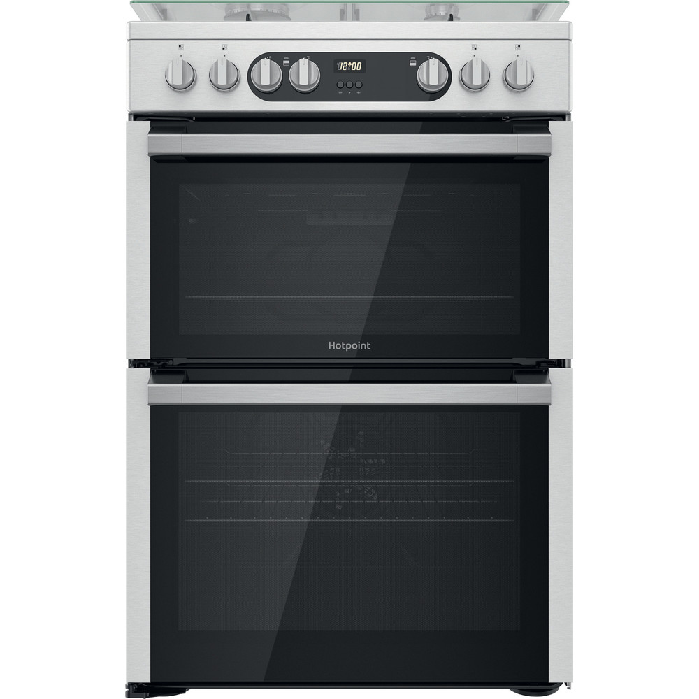 Hotpoint Double Cooker HDM67G9C2CX/U Inox A Frontal