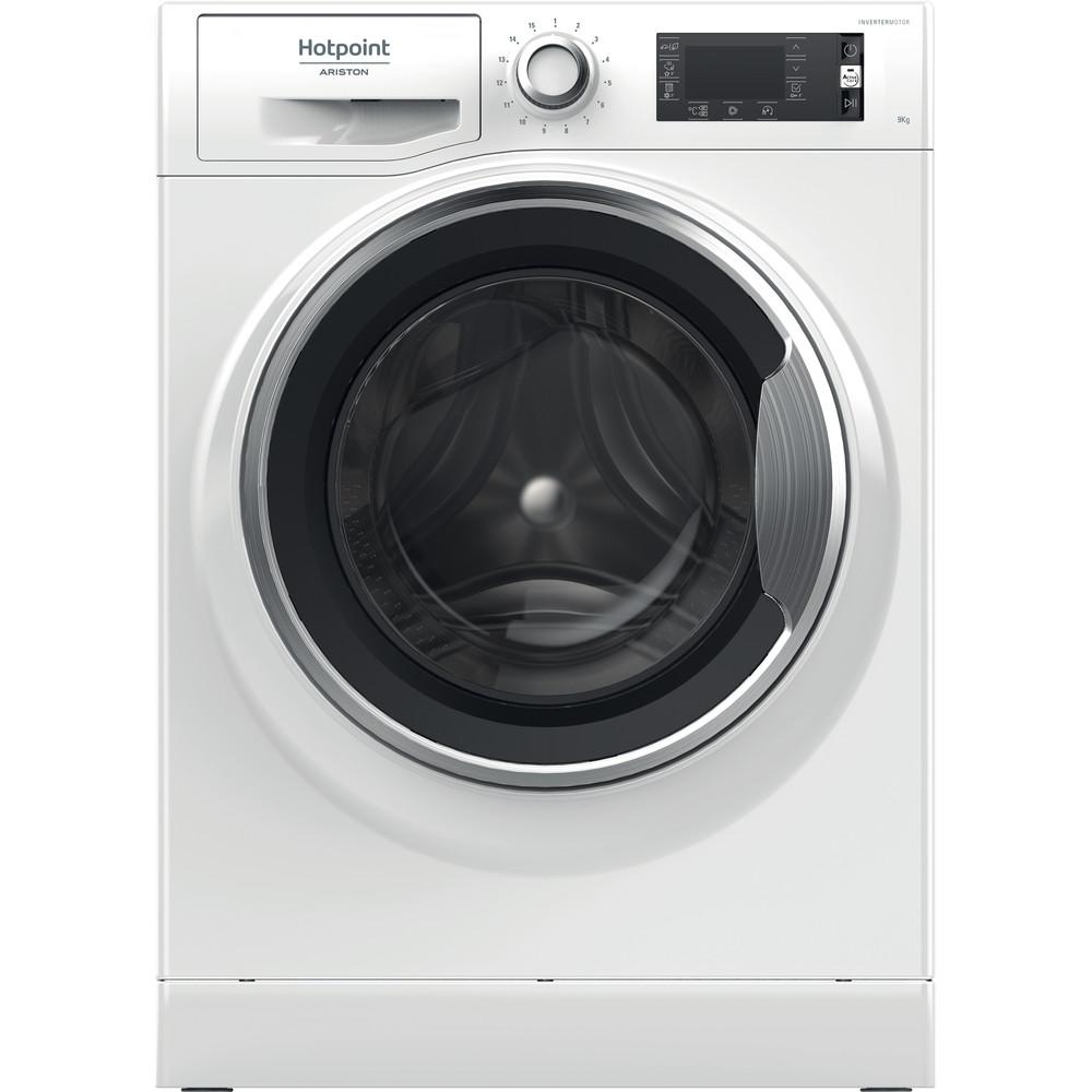 Hotpoint_Ariston Стиральная машина Отдельностоящий NLLCD 946 WC A EU Белый Фронтальная загрузка A Frontal