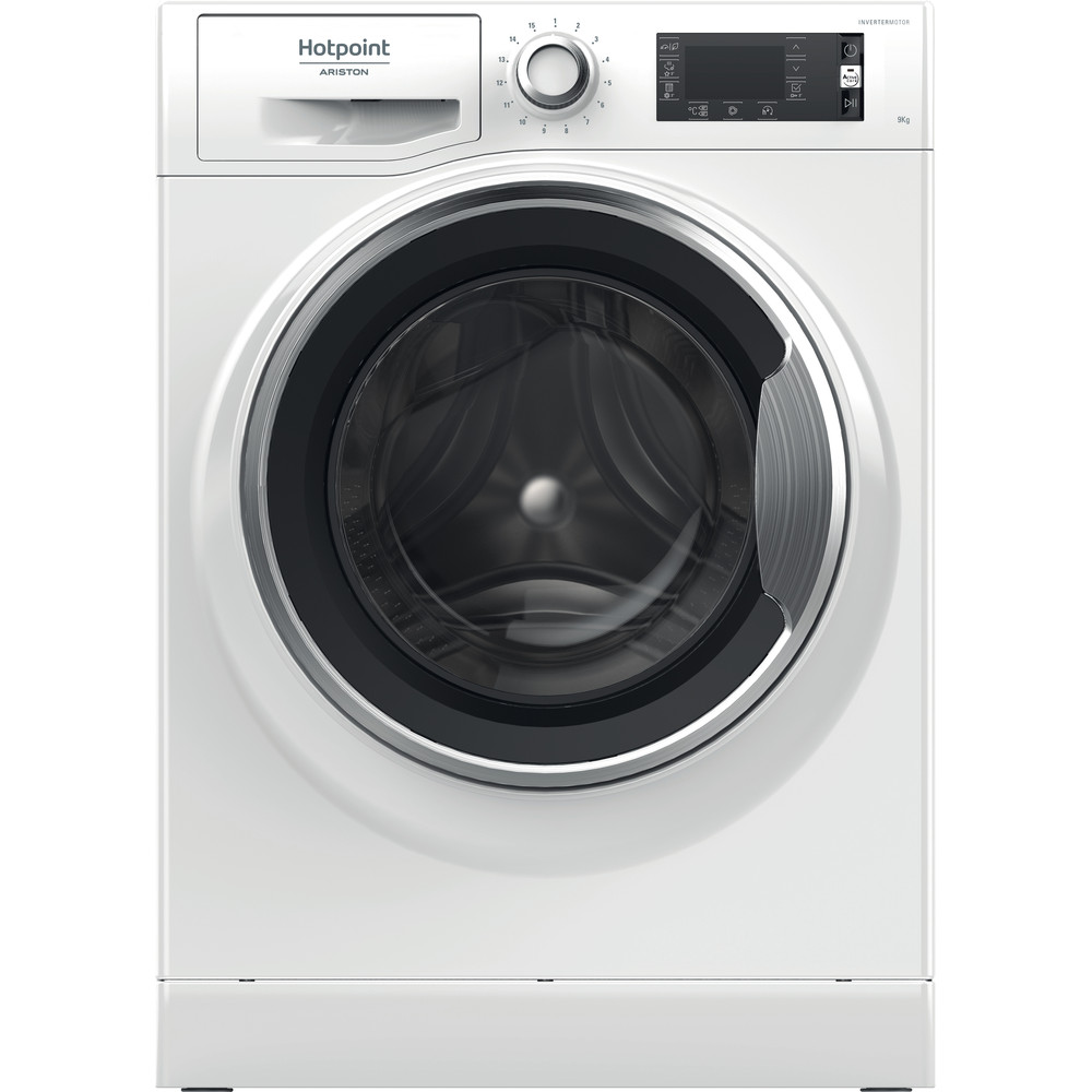 Hotpoint_Ariston Lavabiancheria Libera installazione NLLCD 946 WC A EU Bianco Carica frontale A+++ Frontal