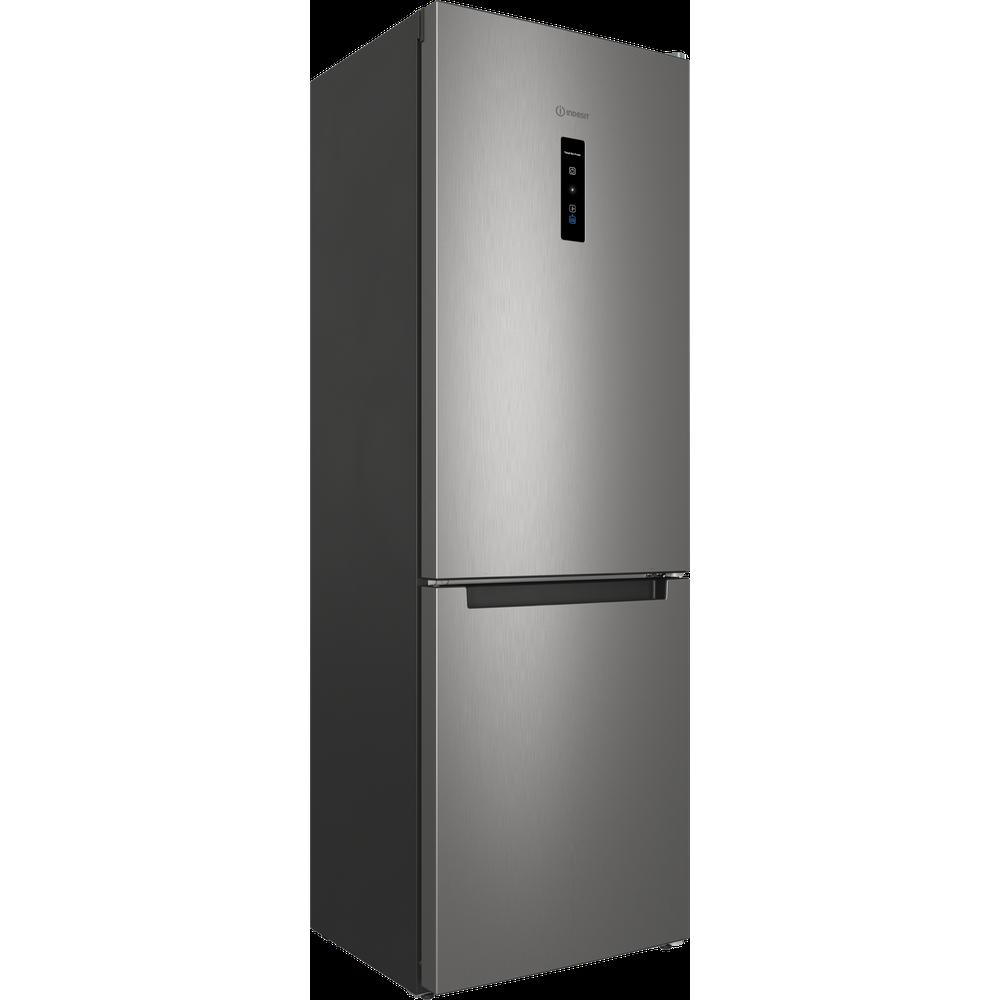 Indesit Холодильник с морозильной камерой Отдельностоящий ITS 5180 X Inox 2 doors Perspective