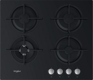 Whirlpool plinska kuhalna plošča: 4 plinski gorilniki - GOR 625/NB