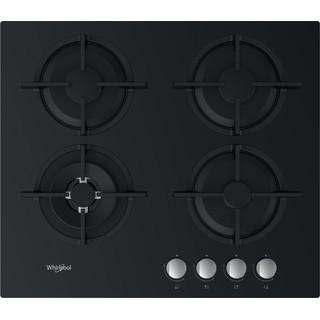Whirlpool Ploča za kuhanje GOR 625/NB Crna Plinska Frontal