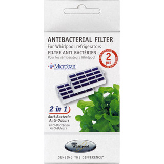 Antibakteriafilter för kylprodukter -