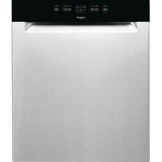 Whirlpool oppvaskmaskin: farge stål, 60 cm - WUE 2B26 X